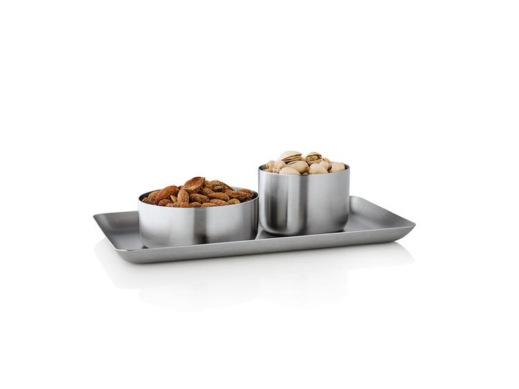 BLOMUS Basic snackskål - Rostfritt stål, liten