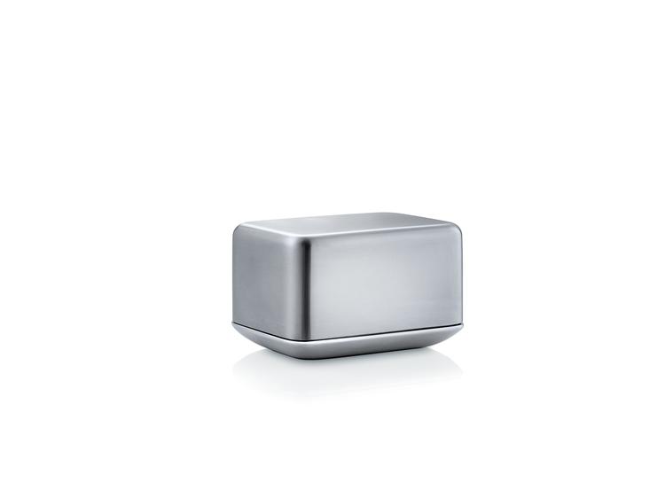 BLOMUS Basic smörbehållare - Rostfritt stål, 125 g