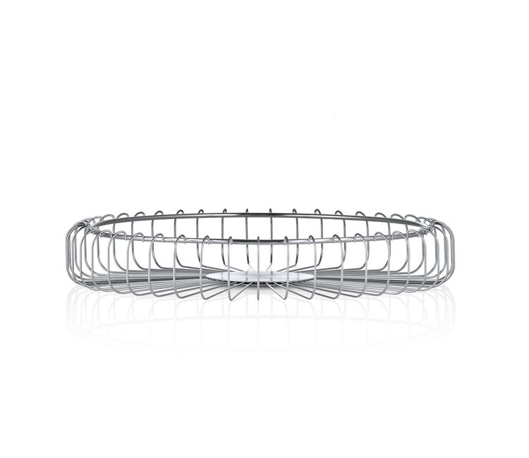 BLOMUS Estra stålkorg - Rostfritt stål, 63643