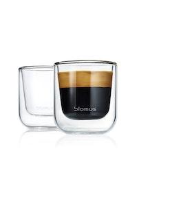 BLOMUS Nero isolerade glas (Espresso), 2 st