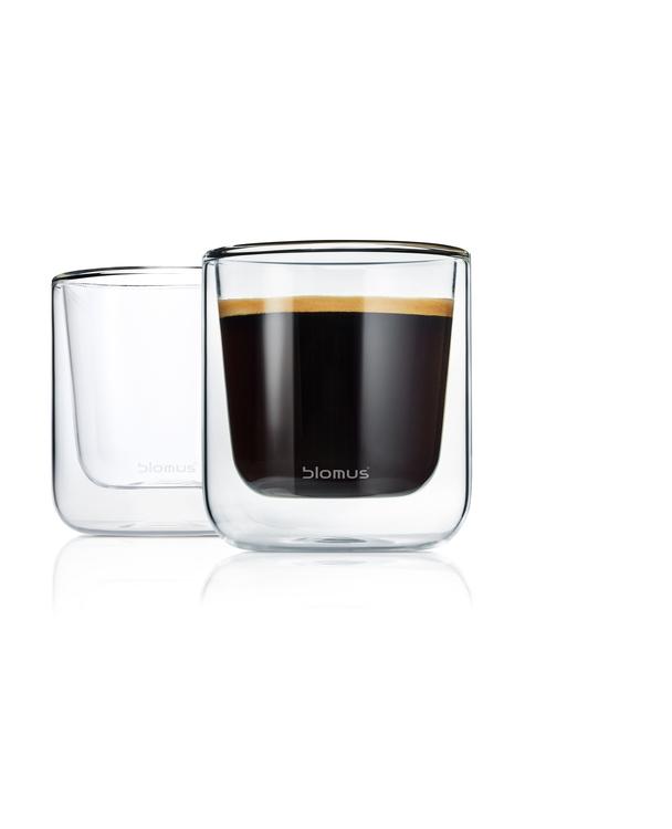 BLOMUS Nero isolerade glas (Caffé), 2 st