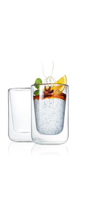 BLOMUS Nero isolerade glas (Cappucino), 2 st