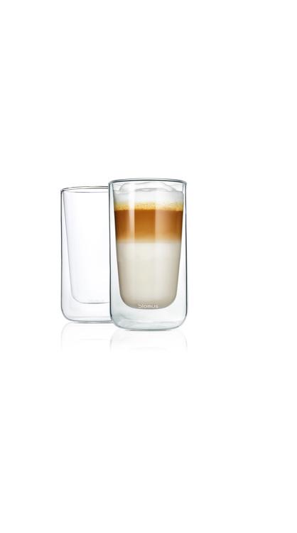 BLOMUS Nero isolerade glas (Latte Macchiato), 2 st