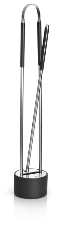 BLOMUS Canneto verktygssats till öppen spis - Rostfritt stål, 2 delar