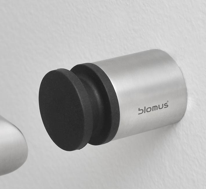 BLOMUS Entra väggmonterad dörrstopp, 4 cm