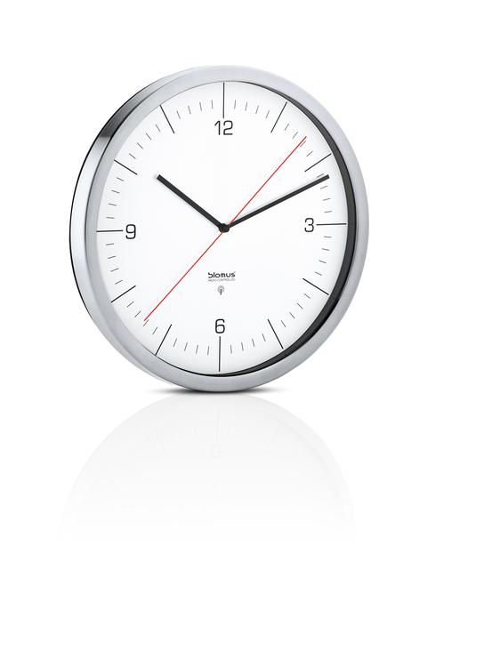 BLOMUS Crono radiokontrollerad klocka - Vit