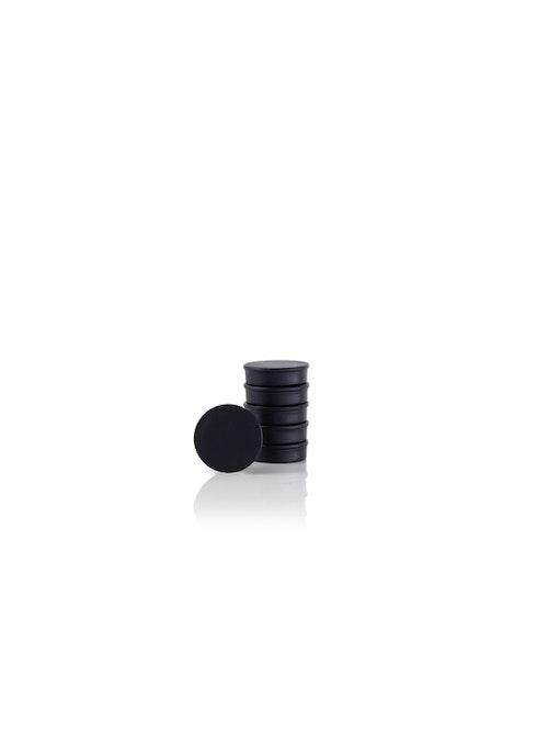BLOMUS Muro magneter - Svart, 6st, 2,5 cm