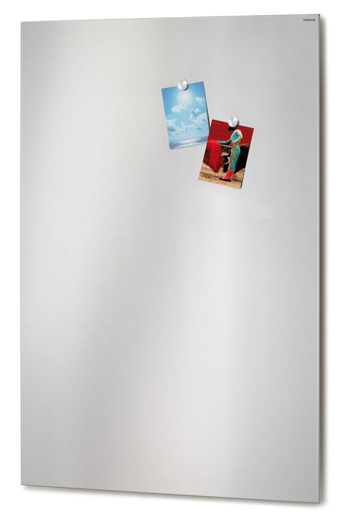 BLOMUS Muro magnettavla - Rostfritt stål, 75x115 cm, magnetisk