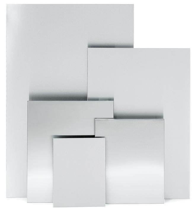 BLOMUS Muro magnettavla - Rostfritt stål, 50x60 cm, magnetisk