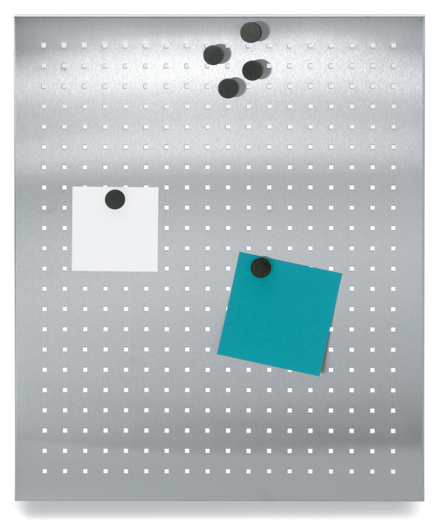 BLOMUS Muro magnettavla - Rostfritt stål, 50x60 cm, perforerad