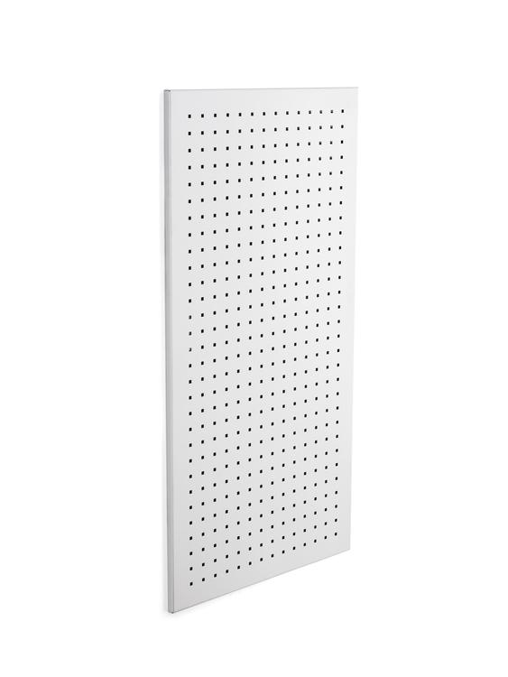 BLOMUS Muro magnetisk anslagstavla - Rostfritt stål, 40x80 cm, perforerad