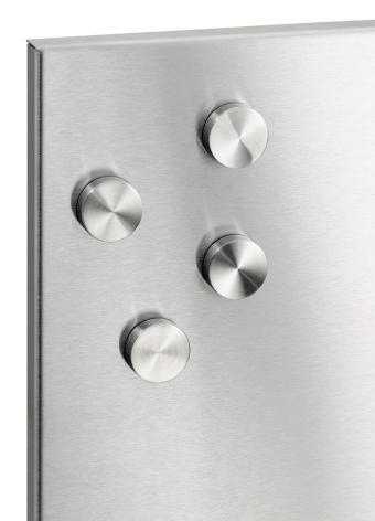BLOMUS Muro magneter - Rostfritt stål, 4st, 2 cm