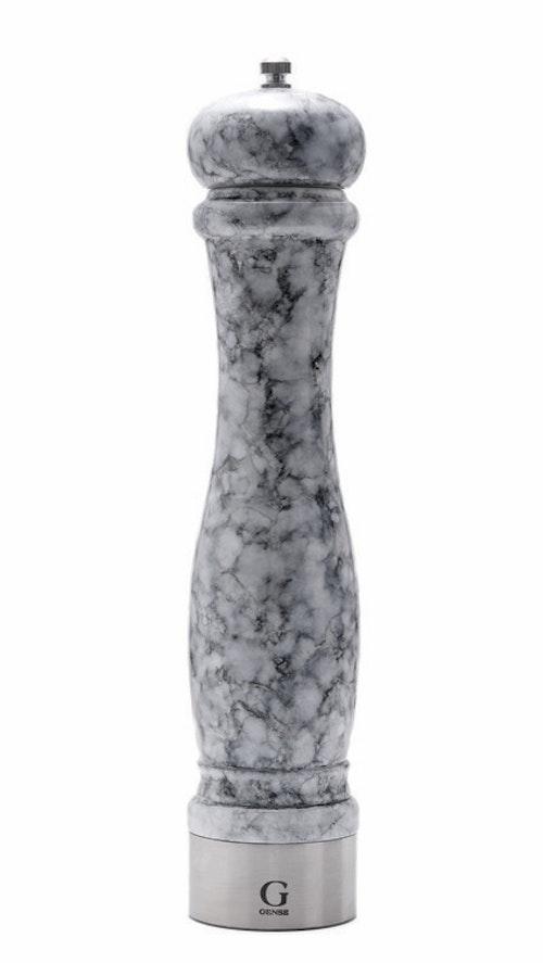 GENSE Java marmor kryddkvarn, salt/peppar - Grå, 30 cm