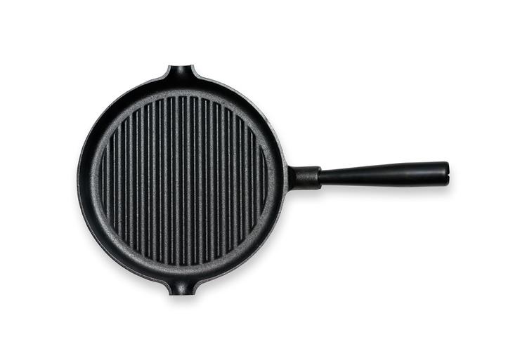 GENSE - Grillpanna med stålhandtag (Ø 250)