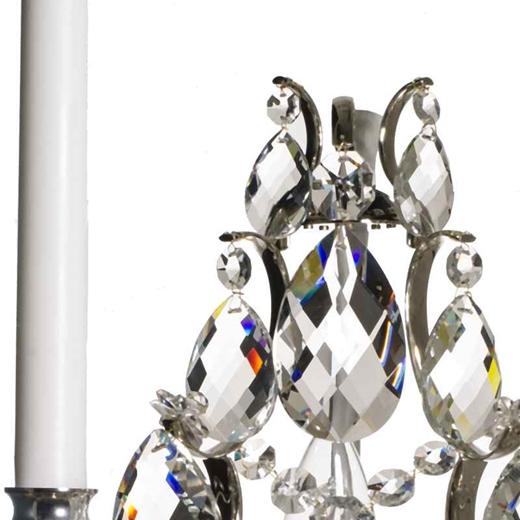 KREBS Pompe barocklampett - Nickel
