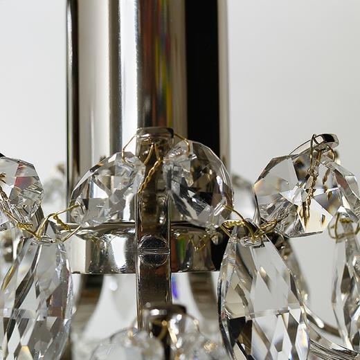 KREBS Fönsterbelysning 16 cm - Nickel