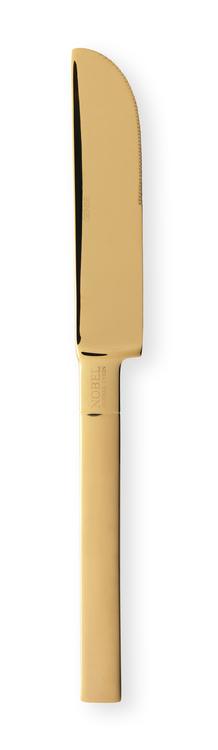 GENSE - Nobel Guld & Silver för- & efterrättskniv - Guld