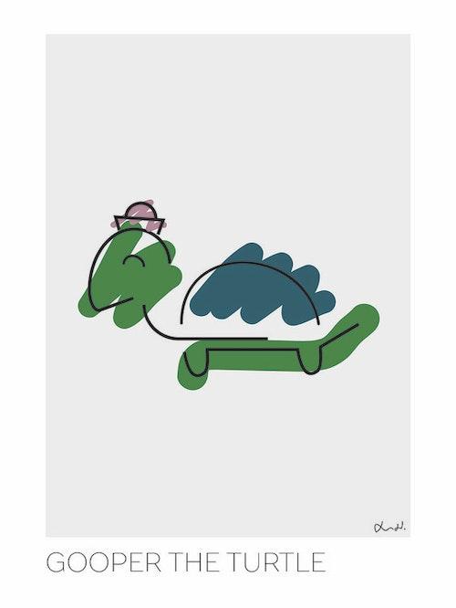 LOTTIEH - Gooper the turtle