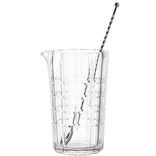 LEONARDO Mixing glas + sked Spiritii