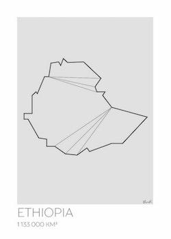 LOTTIEH - Etiopien 50x70