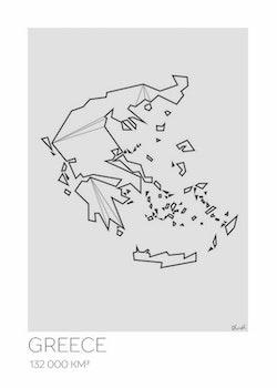 LOTTIEH - Grekland 50x70