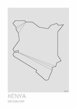 LOTTIEH - Kenya 50x70