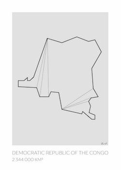 LOTTIEH - Kongo-Kinshasa 50x70