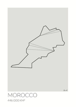 LOTTIEH - Marocko 50x70