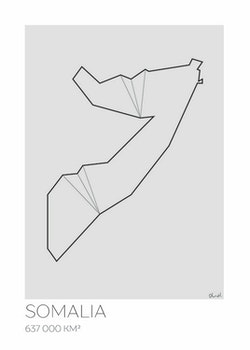 LOTTIEH - Somalia 50x70