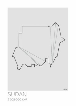 LOTTIEH - Sudan 50x70
