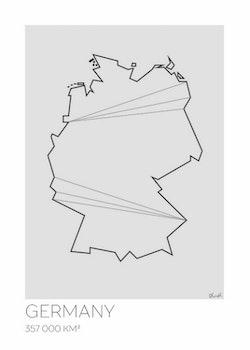 LOTTIEH - Tyskland 50x70