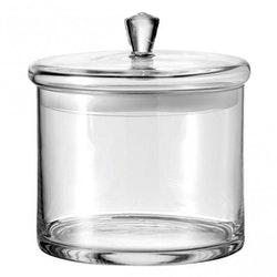 LEONARDO Glasburk med lock 20x18 cm