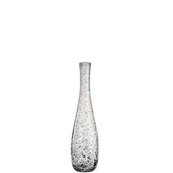 LEONARDO Grå glasvas Giardino 40 cm