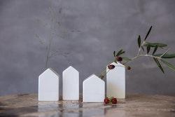 RÄDER Mini trädgårds vaser 4 st