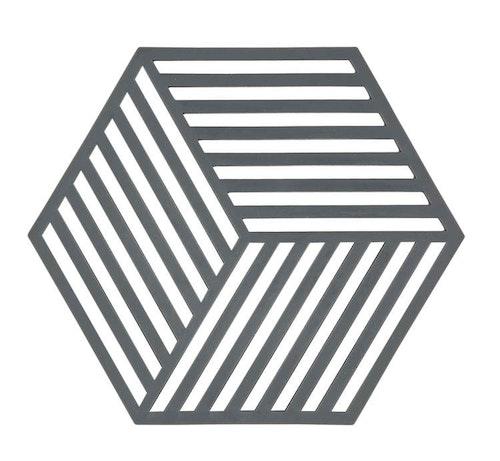 ZONE Grytunderlägg Hexagon Grå