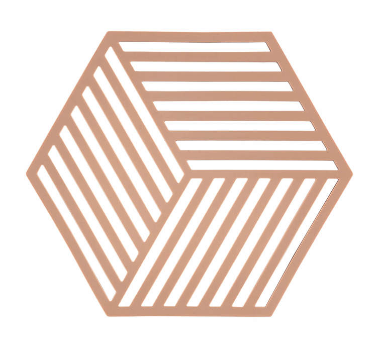 ZONE Grytunderlägg Hexagon Beige