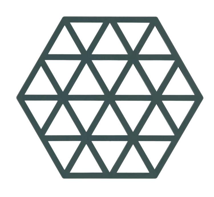 ZONE Grytunderlägg Hexagon/Trekant Kaktus