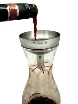 VINBOUQUET - Wine decanter Vinsil