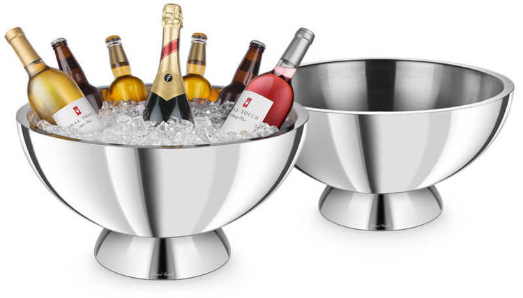 PSI - Champagne double wall Champagneskål - Rostfri