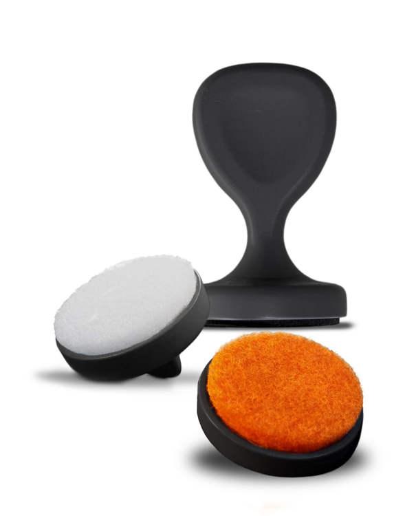 VINBOUQUET - Decanter Brush & Cleaner 2 in 1 Disksvamp
