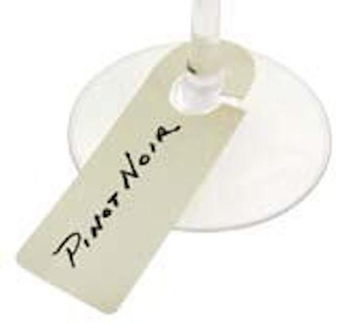 FRANMARA - Stem Glasetiketter 100ST