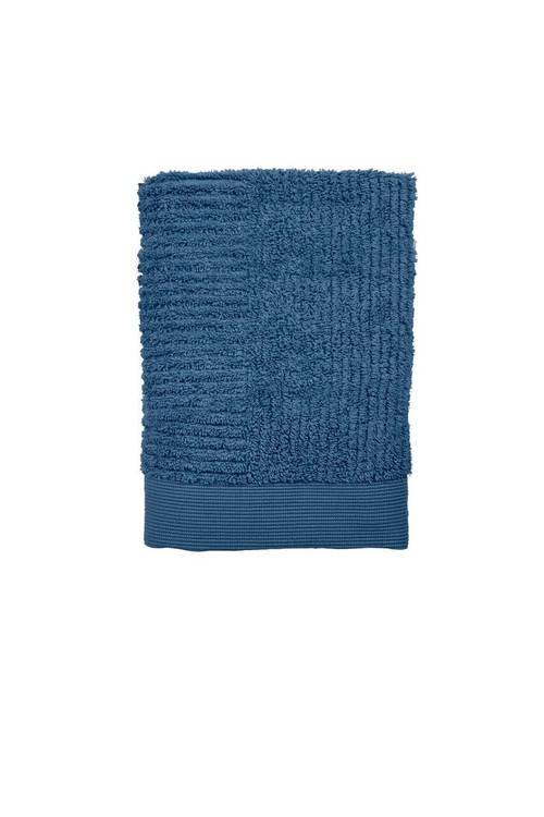 ZONE - Classic Handduk - Azurblå