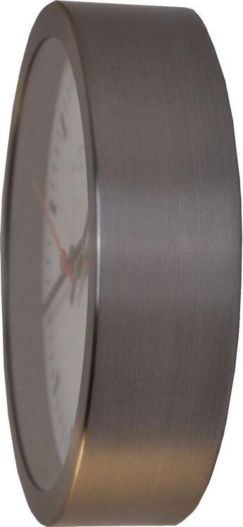 NEXTIME - Stripe Väggklocka - Vit, 25 cm