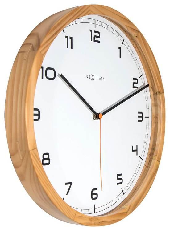 NEXTIME - Company Wood Väggklocka 35 cm
