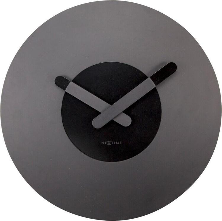 NEXTIME - In Touch Väggklocka - Guld/Silver/Svart, 39.5 cm