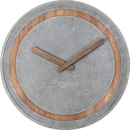 NEXTIME- Concreto Väggklocka, 39.5 cm