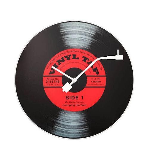 NEXTIME - Vinyl Tap Väggklocka