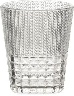BACI MILANO - Chic & Zen Vattenglas - Clear/Wood/Powder