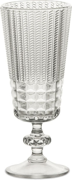 BACI MILANO - Chic & Zen Spiritglas - Clear/Wood/Powder 6-pack