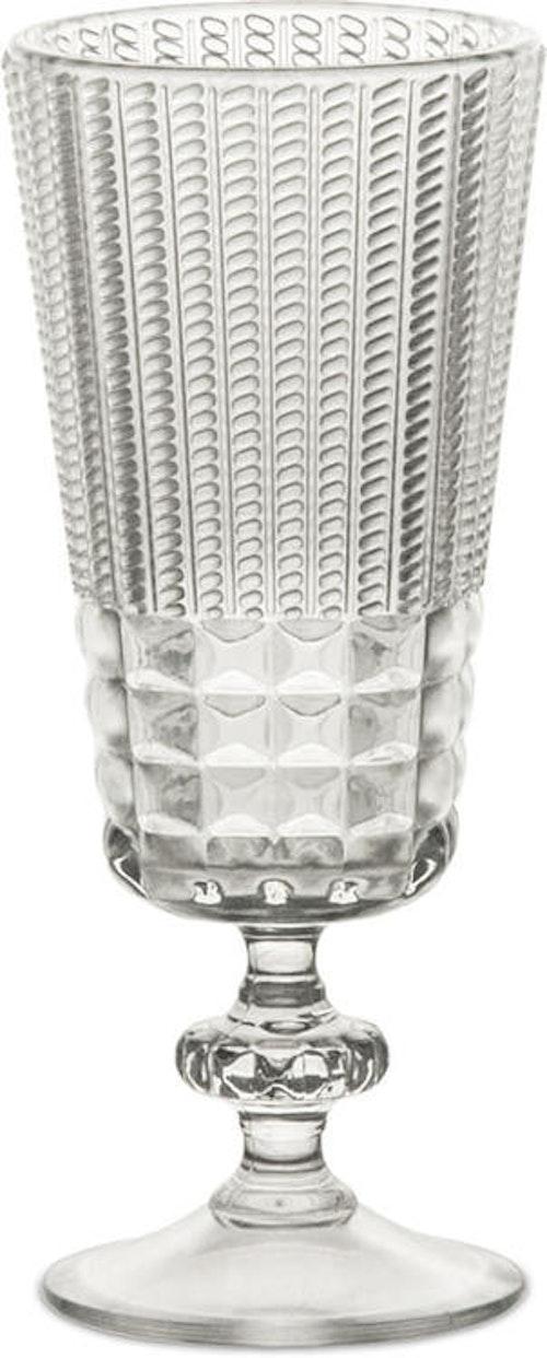 BACI MILANO - Chic & Zen Spiritglas - Clear/Wood/Powder 6-pack